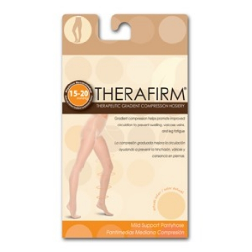 Pantimedia Therafirm Mediana Compresion (15-20 Mmhg) Talla Grande Color Natural