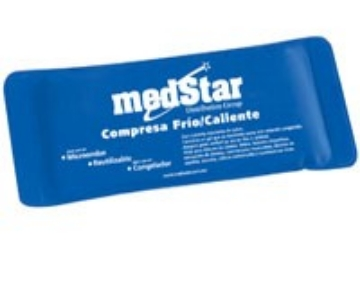 Imagen de Compresa De Gel Medstar Con Cubierta De Nylon Y Pvc. 28.5 X 11.5 Cms