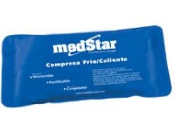 Imagen de Compresa De Gel Medstar Con Cubierta De Nylon Y Pvc.31 X 17 Cms