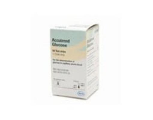 Tiras Reactivas Accutrend Glucosa C/25