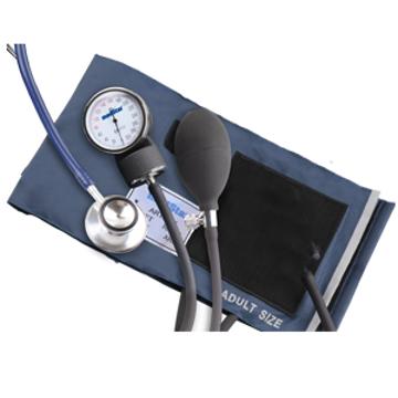 Imagen de Baumanómetro Aneroide Medstar Kit con Estetoscopio de Doble Campana