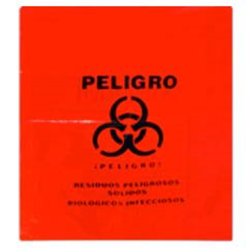 Imagen de Bolsa Roja Residuos Biol  50X60 C/10