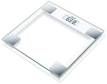 Imagen de »Báscula Digital Beurer con Pantalla LCD Superficie de Cristal Capacidad 150 Kg