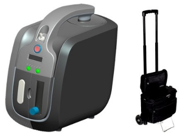 Imagen de Concentrador De Oxigeno Longfian Portable Modelo Jay-1