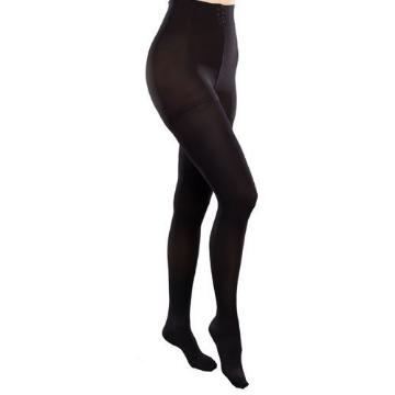 Imagen de Pantimedia Therafirm Alta Compresion (20-30 Mmhg) Modelo Sheer Color Negro Talla Mediana
