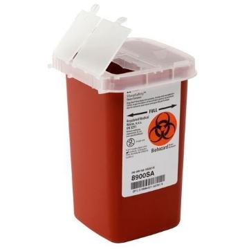 Imagen de Contenedor Sage de Punzocortantes y Residuos Biológico Infecciosos Capacidad 0.94 lts.
