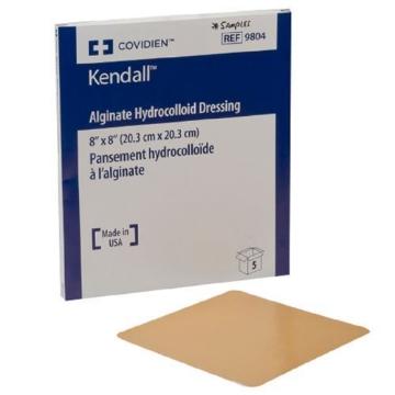 Imagen de Aposito Hidrocoloide Medtronic Kendall Con Alginato De Calcio 10.2 X 10.2 Cm
