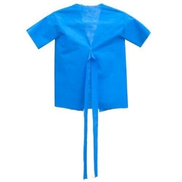 Imagen de Bata para Paciente Economedic Pediátrica Desechable Talla 6-8-10 Paquete c/10 piezas