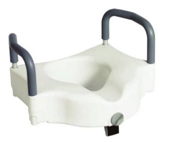 Imagen de Aumento Rider para Baño con Soporte