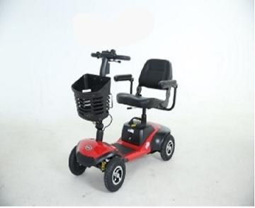 Imagen de Scooter Electrico Hi-Fortune Con 4 Ruedas, Bateria Y Puerto De Carga Usb