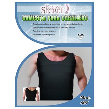 Imagen de »Camiseta para Caballero Negra Body Secret