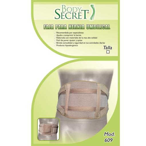 Faja para Hernia Umbilical Body Secret Talla Grande