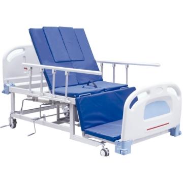 Imagen de Cama Manual Hospitalaria Kaiyang De 4 Posiciones Y Silla Cardiaca