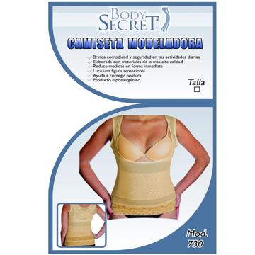 Imagen de »Camiseta Moldeadora Beige Body Secret.