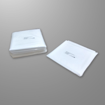 Imagen de Sabana Desechable Economedic de 125x200 cm Blanca Paquete C/10 Piezas