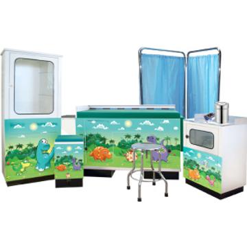 Imagen de Set de Consultorio Pediátrico Muebles y Equipo con 42 piezas.