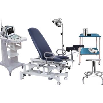 Imagen de Set de Consultorio Ginecológico Muebles y Equipo con 59 piezas.