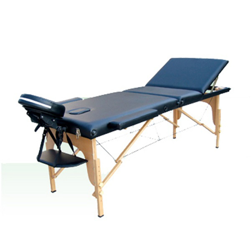 »Mesa para Masaje Portatil de Madera de 3 Secciones