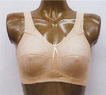 Imagen de Brassiere Maxima para Prótesis Mamaria Modelo Liza Color Blanco Talla 34B