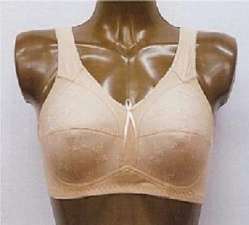 Imagen de Brassiere Maxima para Prótesis Mamaria Modelo Liza Color Blanco Talla 34C