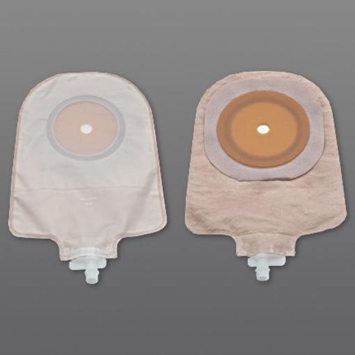 Bolsa para Urostomía Hollister Transparente con Barrera Cutánea Plana Flextend Recortable 64 mm