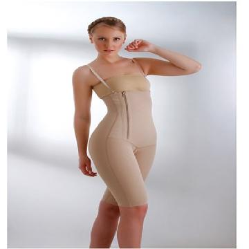 Imagen de Faja Enteriza  Senos Libres Post-Quirurgica sin Costuras para Lipo Abdomen Cadera Espalda y Gluteos