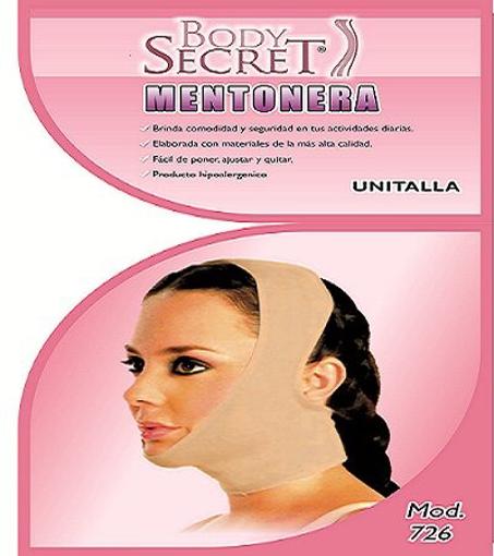 Mentonera Nude Body Secret Unitalla