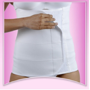 Imagen de Faja Larga Post Parto y Post Cirujia Body Secret, talla mediana.