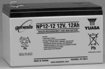 Imagen de Bateria Enersys Sellada 12 V-12Amp Para Silla De Ruedas Electrica