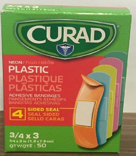 Banditas adhesivas color Neon
