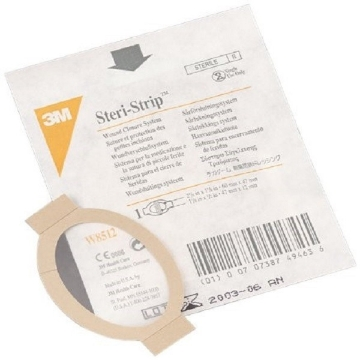 Imagen de Sistema Steri-Strip™ c/apósito transparente TEGADERM™. Medida: 6 x 4.8cm