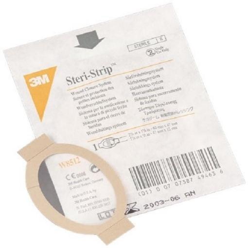 Sistema Steri-Strip™ c/apósito transparente TEGADERM™. Medida: 6 x 4.8cm