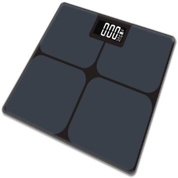 Imagen de Bascula Electronica de Baño Marca Benesta con Escala de 180 Kg /100gr, Basica, Negra.