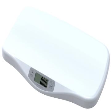 Imagen de Bascula Electronica de Bebe con Escala de 5 Gramos y Soporte de Peso de 20 Kg, Basica, Blanca