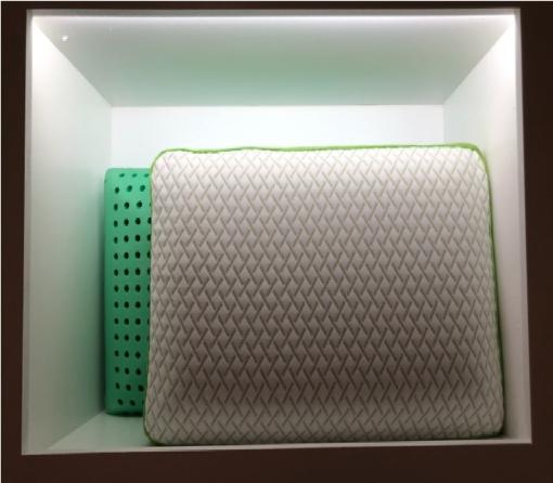 Almohada Fresco con Esencia de Te Verde