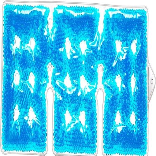 Compresa de Perlas para Terapia Frio/Caliente Benesta Rexicare de 3 Seciones para Hombros