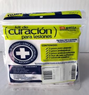 Imagen de Kit de Curacion para Heridas (set 3)