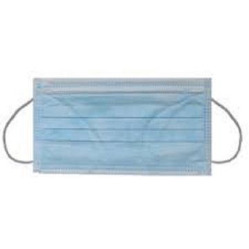 Imagen de Cubrebocas Degasa Azul caja con 150