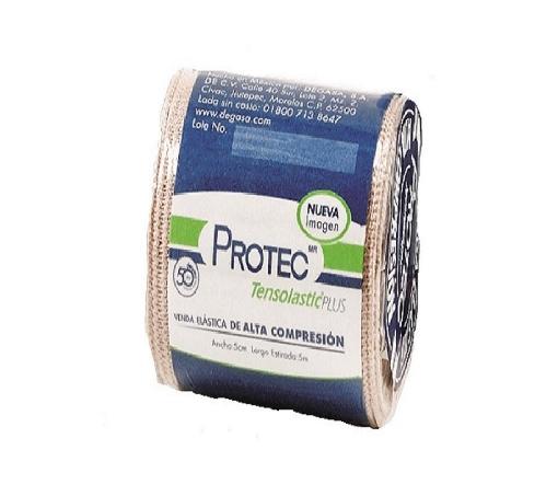 Venda Elástica Tensolastic Protec Plus 5 cm x 5 mts.
