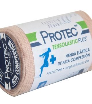 Imagen de Venda Elástica Tensolastic Protec Plus 7 cm x 5 mts.