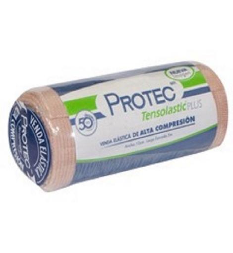 Venda Elástica Tensolastic Protec Plus 10 cm x 5 mts.