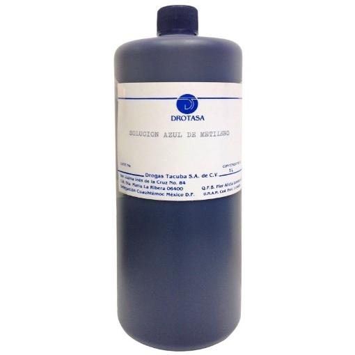 Solucion azul de metileno Drotasa Botella de 1 L