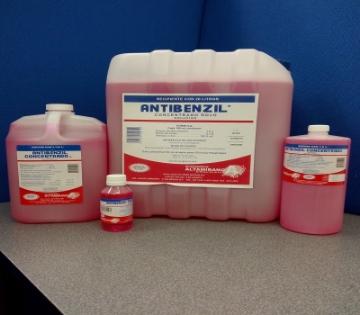 Imagen de Cloruro de benzalconio al 1% (Antibenzil Concentrado Rojo NF 115 Ml.)