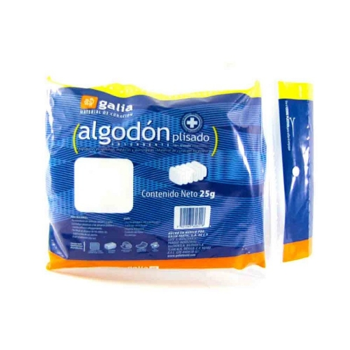 Algodon Galia Plisado 25 Gramos