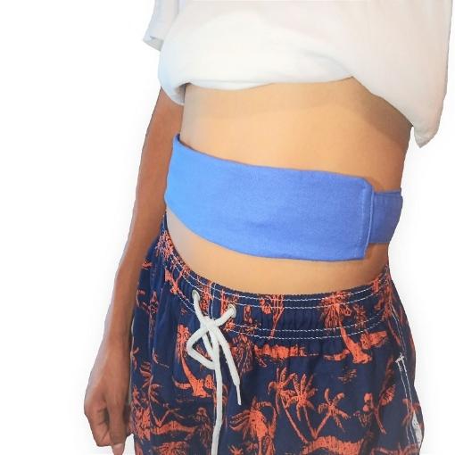 Cinturon Azul para Dialisis Mediano