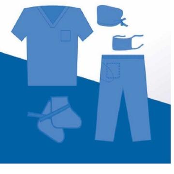 Imagen de Uniforme Quirurgico Ambiderm Basico tela sms