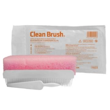 Imagen de Cepillo de Jabon y Clorexhidina Clean Brush Diafra 20 ml
