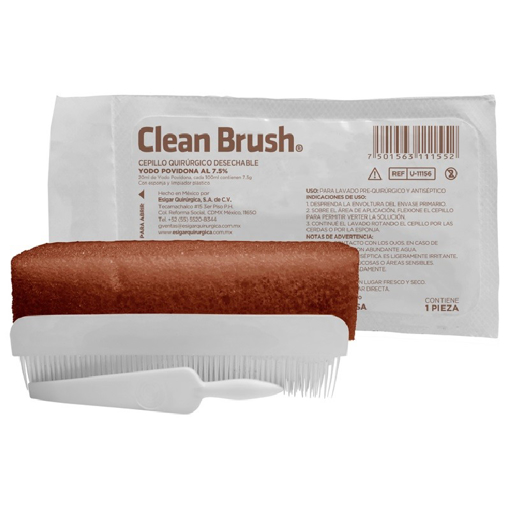 Cepillo de Jabon y Iodopovidona Clean Brush Diafra 20 ml