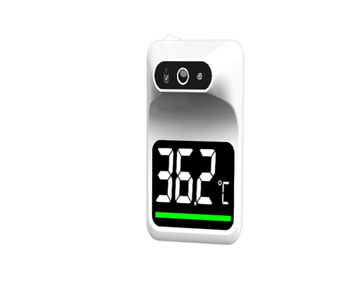 Termometro Infrarrojo Benesta de Pared sin Contacto, con Alarma Blanco