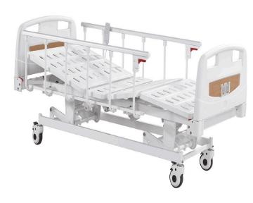 Imagen de Cama Electrica Hospitalaria 3 Posiciones con Barandales Plegables